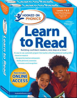Hooked on Phonics Learn to Read - Second Grade Set (Levels 7 & 8)