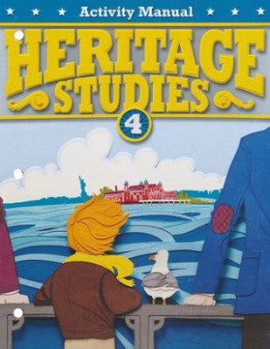 BJU Press Heritage Studies 4 Student Activity Manual, 3rd Ed.
