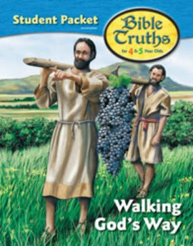 BJU Press Bible Truths K4 Student Packet, 2nd edition