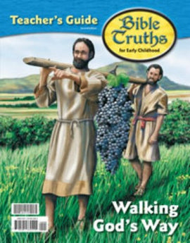 BJU Press Bible Truths K4 Teacher's Guide and Cards, 2nd ed