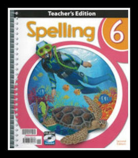 BJU Press Spelling 6 Home Teacher's Edition, 2nd Ed.