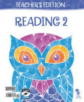 BJU Press Reading 2 Teachers Edition 3ED Book and CD