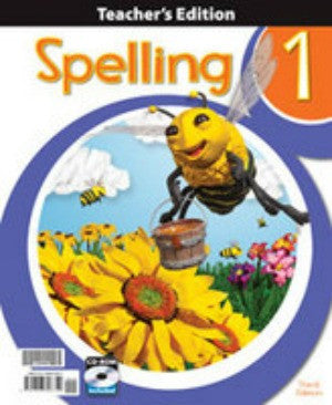 BJU Press Spelling 1 Teachers Edition 3ED Book and CD