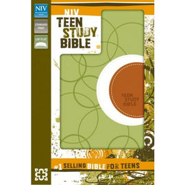 Teen Study Bible - NIV - Leather