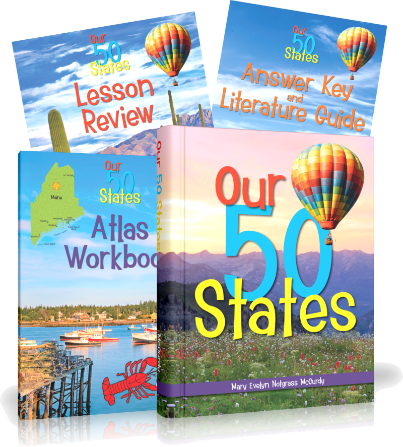 Our 50 States Curriculum Package