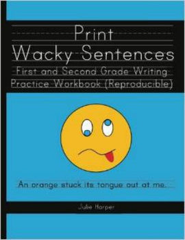 Print Wacky Sentences - Reproducible