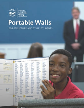Portable Walls for Structure and Style Students