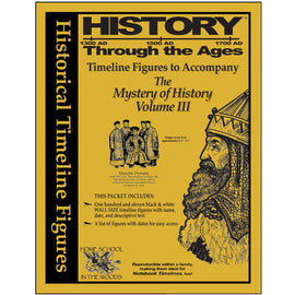 Timeline Figures to Accompany The Mystery of History Volume 3