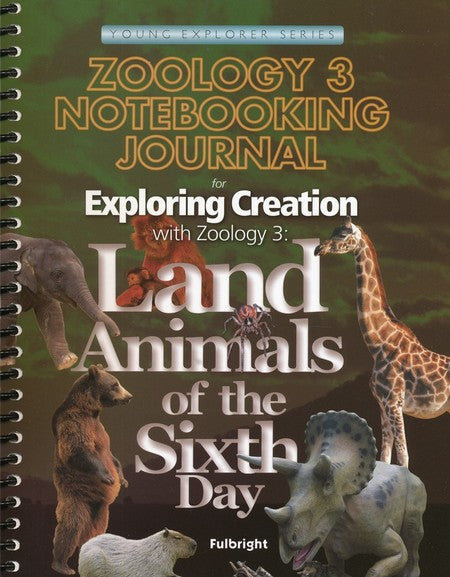 Exploring Creation with Zoology 3 Notebooking Journal