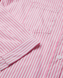 SALORA™ Long Sleeve Stripe Shirt