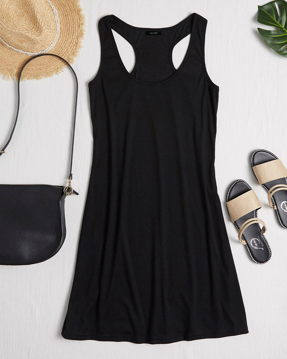 SALORA™ Beach Tank Dress