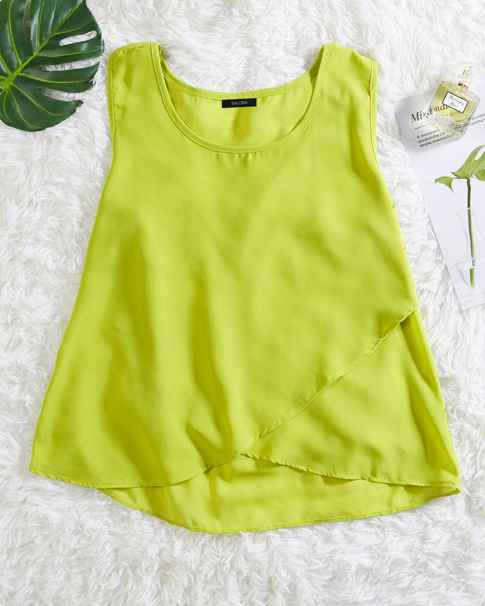 SALORA™ Double Layered Cami Top