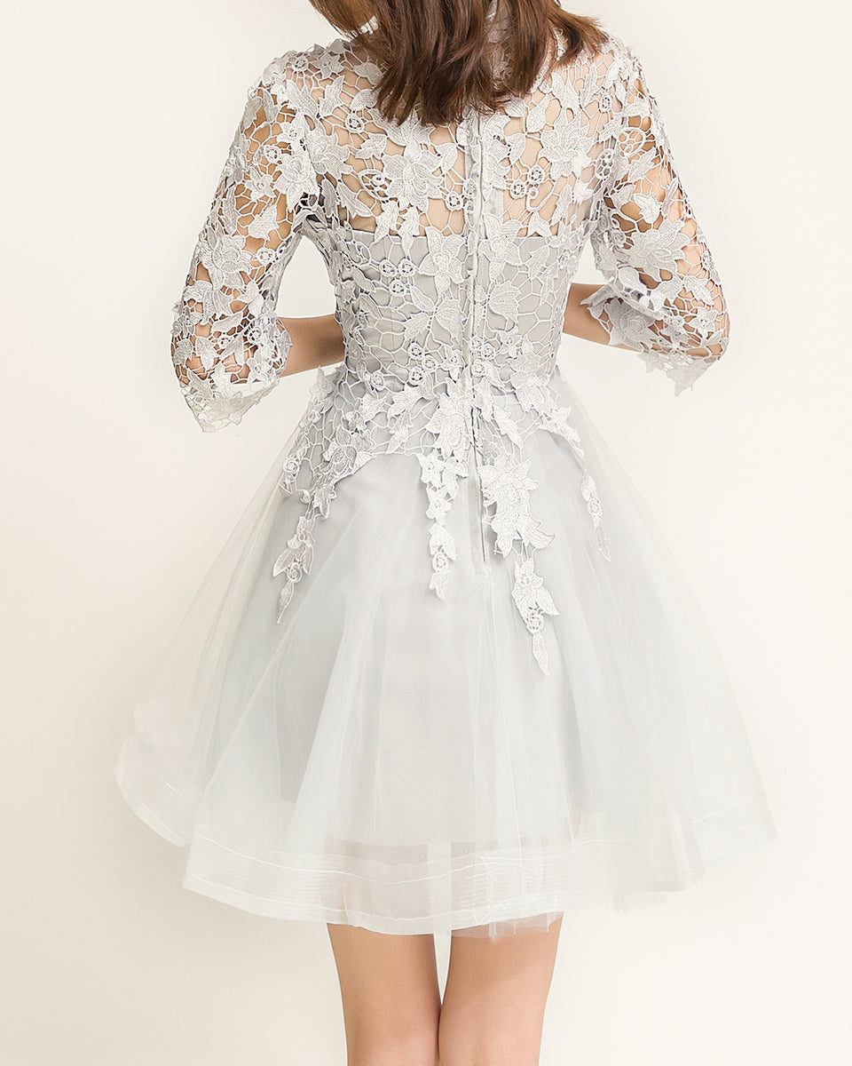 Fairytale Embroidered Prom Dress