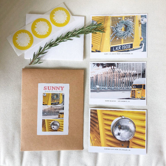 Sunny Winter Postcard Pack