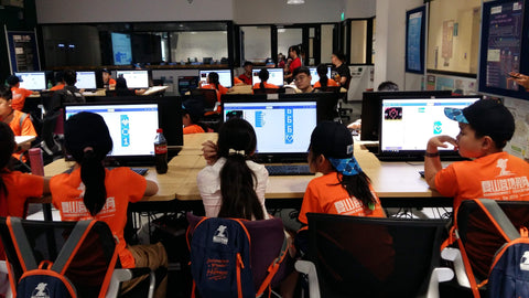 Tertiary Immersion Program students micro bit programming computer intereaction