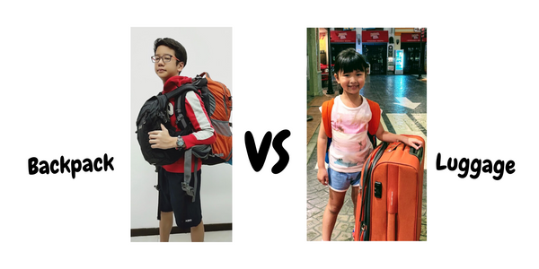 Backpack or luggage?