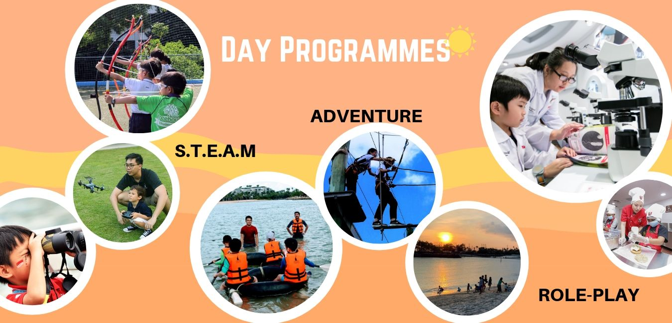 Sentosa, Day Programmes, Overnight Camps