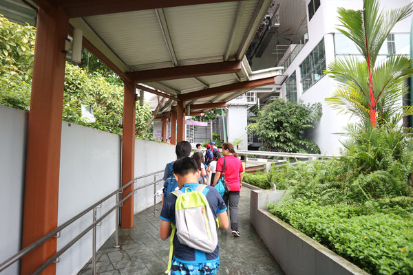 Sheltered Walkways in Sentosa