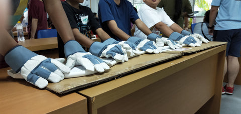 High Achievers- DT with AWWA - Safety gloves