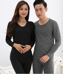Couple Long Johns Thermal Underwear Men Women Sleepwear Winter Pajamas  Thickening Couples Shapewear 15hfx