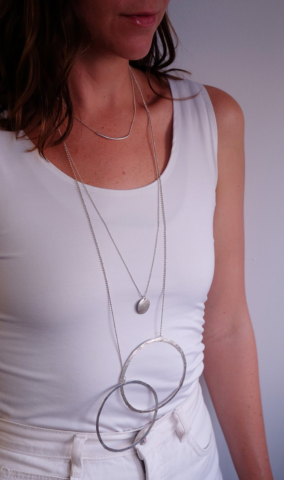 Moonbeam Charm Necklace