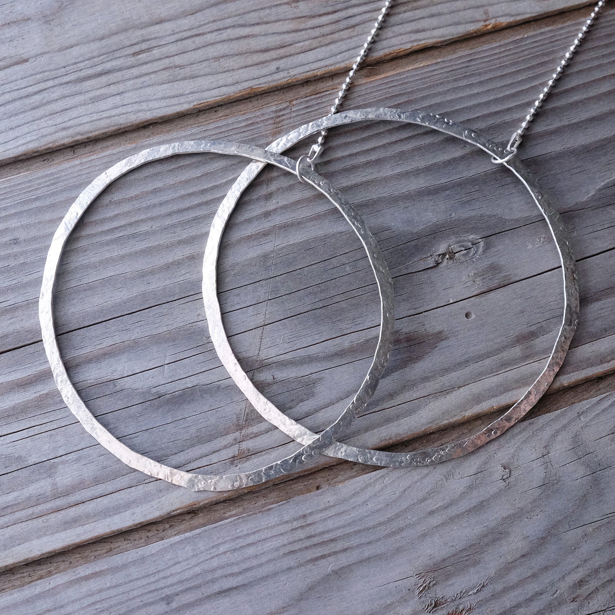 Sister Moons Statement Necklace