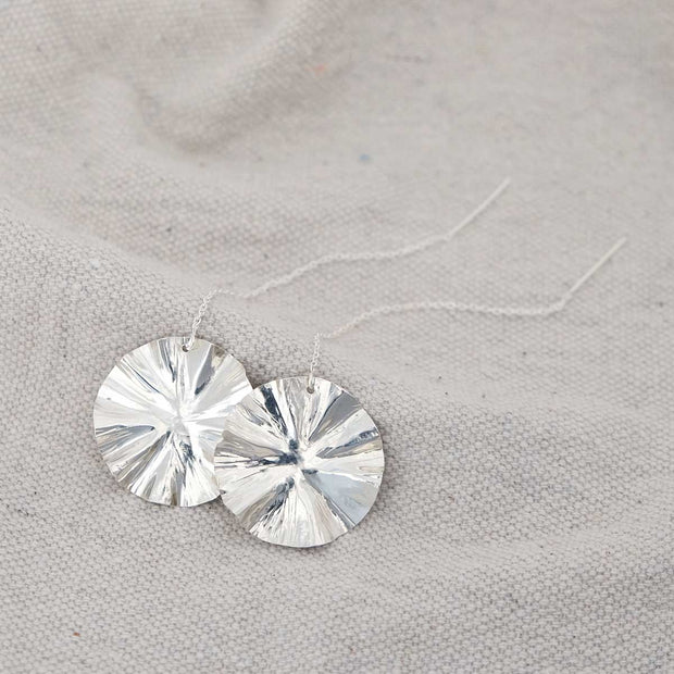 Glass Sky Jewelry - Expand Threaders - Sterling Silver Handmade Minimal Jewelry