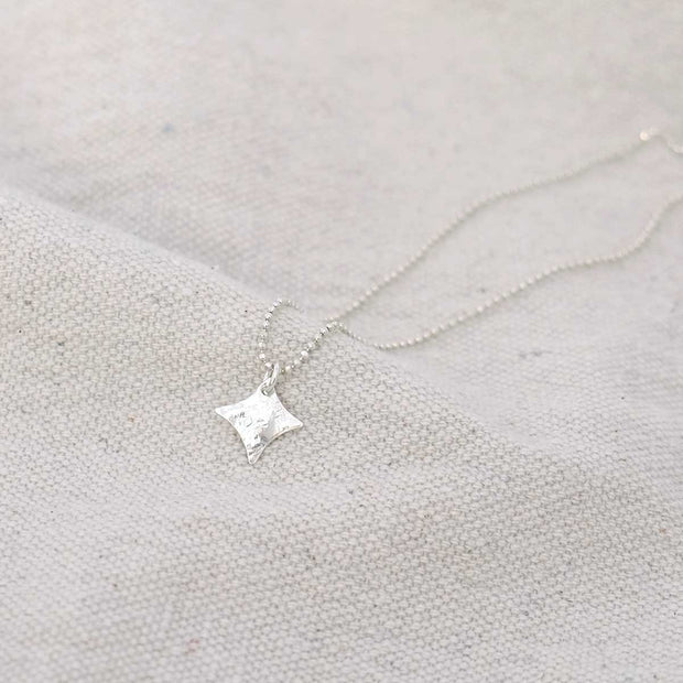 Glass Sky Jewelry - Mini Twinkle Necklace - Sterling Silver Handmade Minimal Jewelry