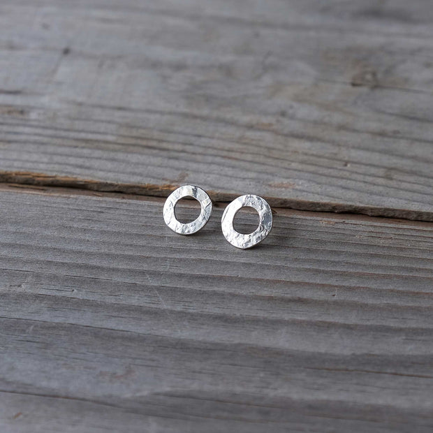Small Moon Halo Studs