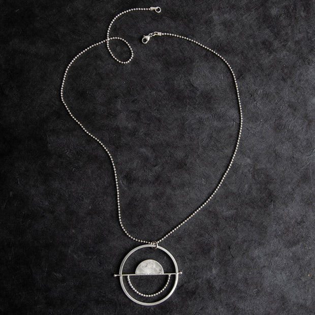 Silver Full Balance Necklace