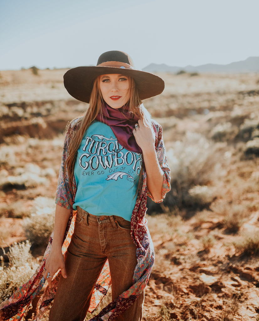 Turquoise & Cowboys