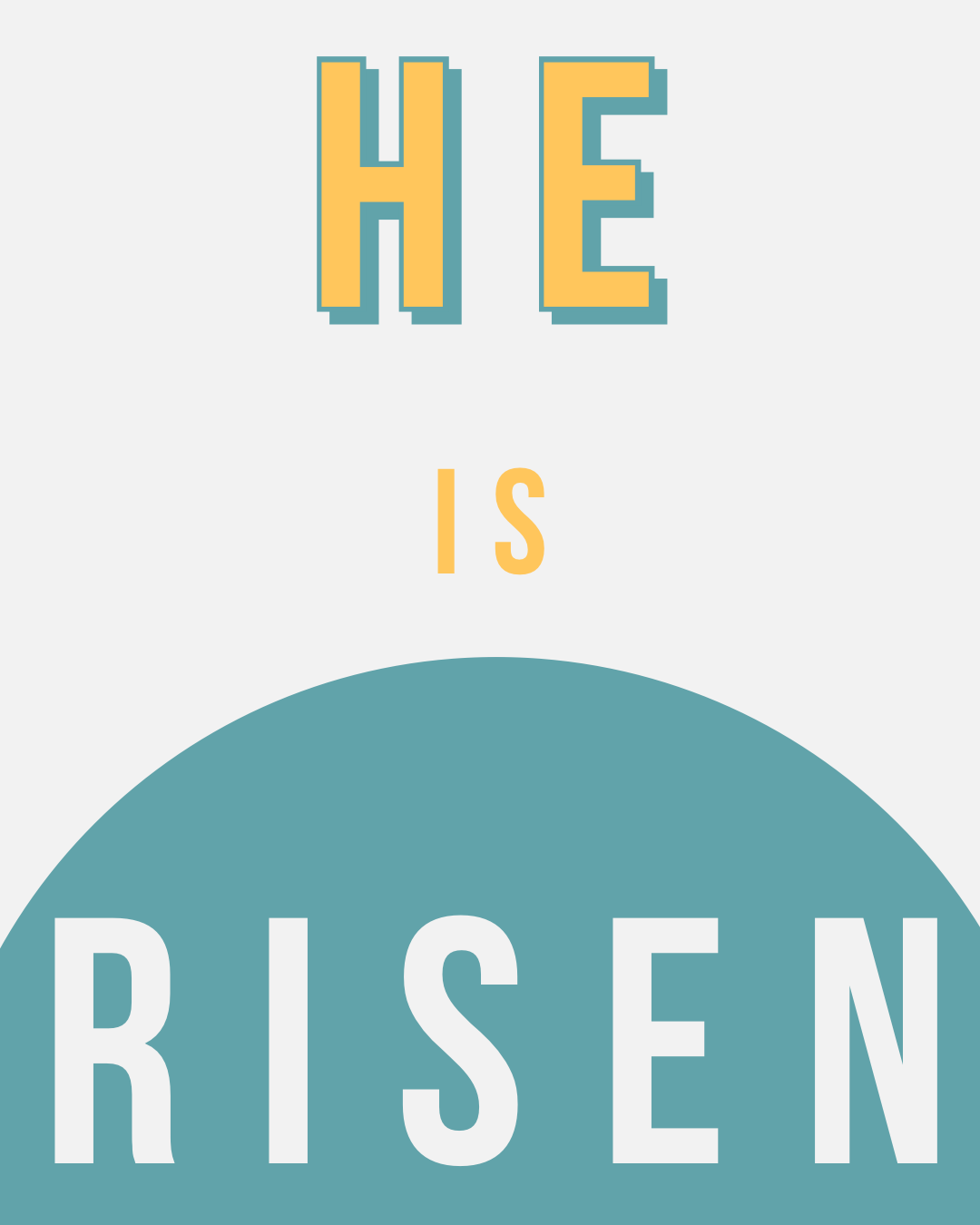 He is Risen Branded Box