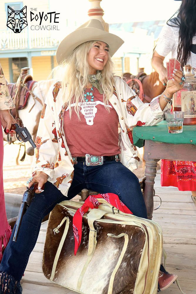 The Coyote Cowgirl Western Apparel