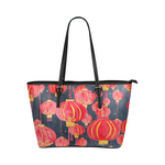 Premium Tote Bag Lanterns Black  - Petit Crayon Studio