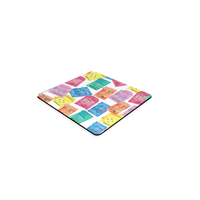 Hong Kong coaster by Petit Crayon Studio premium gift store - Buy online Hong Kong Themed gift ideas corporate