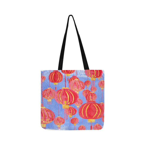 Hong Kong lanterns gift idea tote bag - petit crayon studio