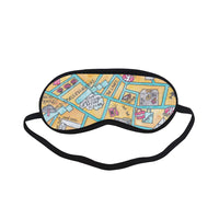 Petit Crayon Studio Sleeping Mask gift for travelers, teachers, expats, friends and family, Hong Kong themed presents, corporate gifts from Hong Kong