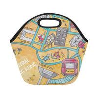 Petit Crayon Studio Hong Kong Central kid's and work lunch bag gift idea, buy online most original Hong Kong themed gift ideas, lunch bags and home accessories Hong Kong themed
