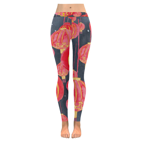 Petitcrayonstudio.com Women's lanterns legging, buy online original Hong Kong themed gifts, presents, corporate gifts, farewell gifts for expats