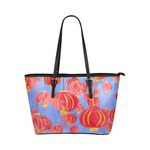 Premium Lanterns Tote Bag for Women Blue - Petit Crayon Studio