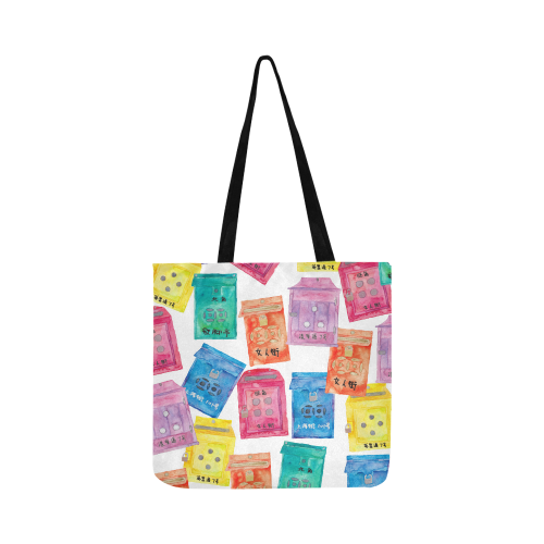 mailboxes tote bag - Hong Kong gift themed tote bag gift idea by petit crayon studio gift store