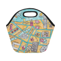 Petit Crayon Studio Hong Kong themed gift ideas lunch bag, HK themed gift shop, Online farewell gift ideas for expats, corporate gifts Hong Kong themed