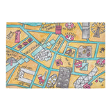 Hong KOng Central art entrance mat gift