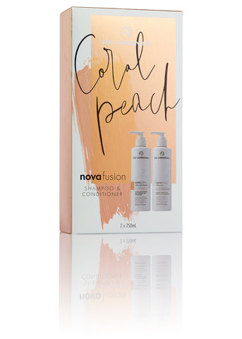 Coral Peach Shampoo & Conditioner Duo Pack