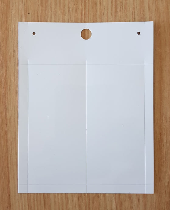 88903 52mm x 107mm -  Panel Plates  52 x 107mm With Adhesive  AUD $312.00 / 100 (Subject to availability)