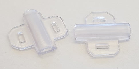 63070 - PMF-ET Transparent Holders for serieFLAT cable tags 4 mm x 30mm