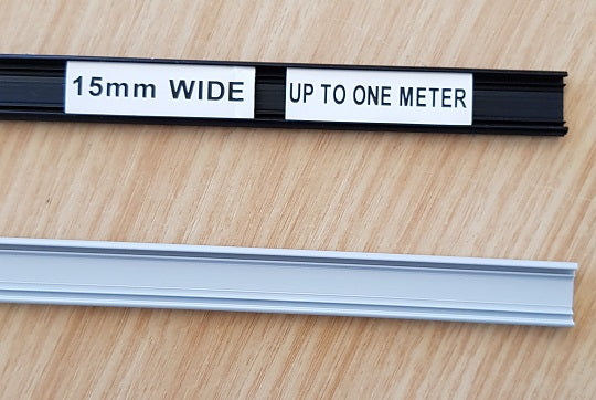 15mm rail. For electrical switchboards. Cable ID, wire ID.