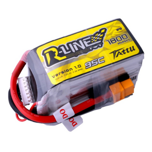 Tattu R-Line 6S 1800mah 95C Lipo Battery