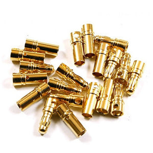 3.5mm Golden Plated Spring Connector