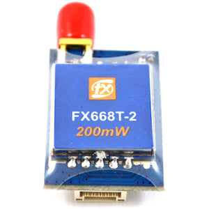 FX668T 5.8 GHz 40 Channel 200mW Pro Race Video Transmitter